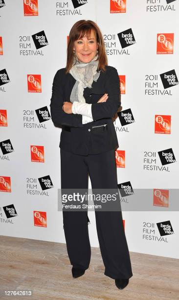 Zoe Wanamaker attends the Birds Eye View Film Festival at BFI Southbank on March 8 2011 in London England