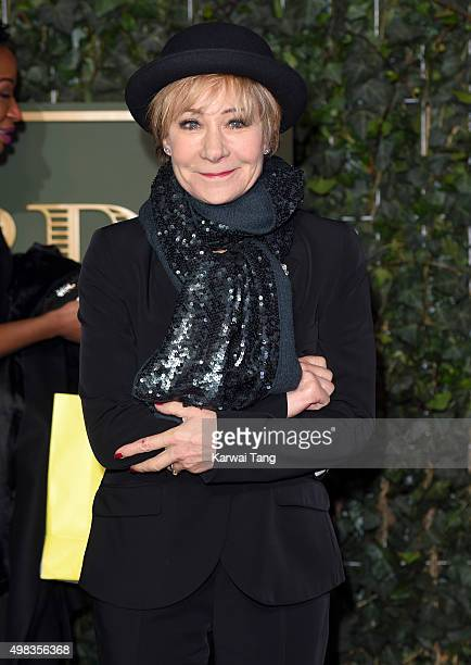 Zoe Wanamaker attends the Evening Standard Theatre Awards at The Old Vic Theatre on November 22 2015 in London England