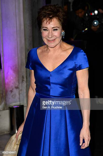 Zoe Wanamaker attends the Evening Standard Theatre Awards at The Savoy Hotel on November 17 2013 in London England