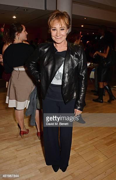 Zoe Wanamaker attends the press night performance of 'Brasil Brasileiro' at Sadler's Wells Theatre on July 10 2014 in London England