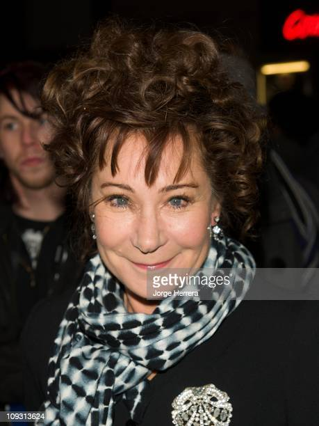Zoe Wanamaker attends the theatre website Whatsonstagecom's annual awards at Prince Of Wales Theatre on February 20 2011 in London England