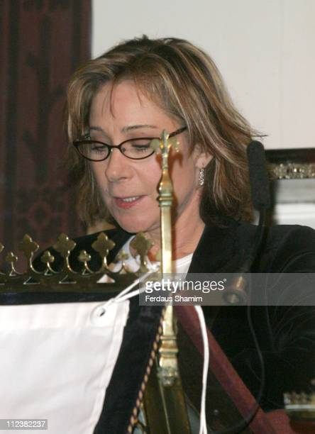Zoe Wanamaker during Celebrity Christmas Concert for Autism at St Pauls Church in London Great Britain