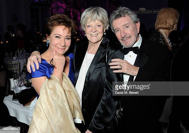 Zoe Wanamaker Icon Award winner Dame Maggie Smith and Gawn Grainger attend an after party following the 59th London Evening Standard Theatre Awards...