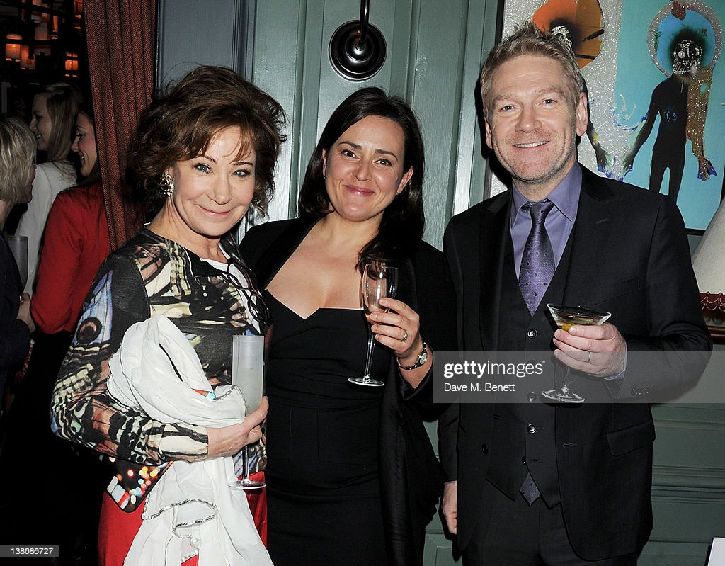 <a gi-track='captionPersonalityLinkClicked' href=/galleries/search?phrase=Zoe+Wanamaker&family=editorial&specificpeople=224028 ng-click='$event.stopPropagation()'>Zoe Wanamaker</a>, Lindsay Brunnock and <a gi-track='captionPersonalityLinkClicked' href=/galleries/search?phrase=Kenneth+Branagh&family=editorial&specificpeople=213618 ng-click='$event.stopPropagation()'>Kenneth Branagh</a> attend The Weinstein Company Dinner Hosted By Grey Goose in celebration of BAFTA at Dean Street Townhouse on February 10, 2012 in London, England.