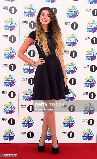 Zoella attends the BBC Radio 1 Teen Awards at Wembley Arena on November 3 2013 in London England