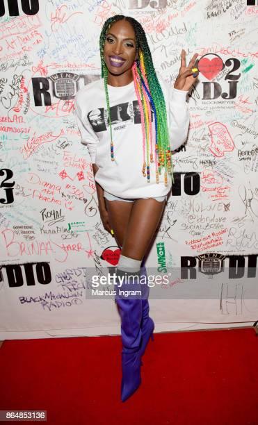 Zoey Clarke attends her 'Creative Juices' listening party at Uptown Studios Atlanta on October 21 2017 in Atlanta Georgia