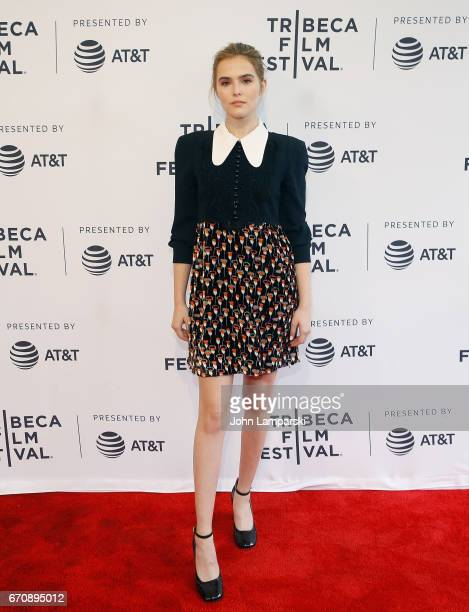 Zoey Deutch attends 'Flower' during the 2017 Tribeca Film Festival at SVA Theatre on April 20 2017 in New York City