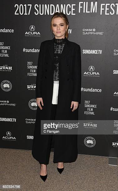Zoey Deutch attends the 'Before I Fall' premiere during day 3 of the 2017 Sundance Film Festival at Eccles center on January 21 2017 in Park City Utah