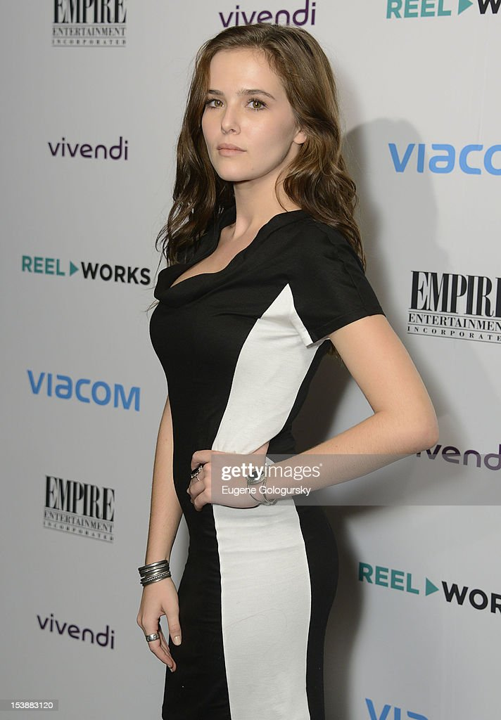 Zoey Deutch attends the Reel Works 2012 Gala Benefit at The Edison Ballroom on October 10, 2012 in New York City.