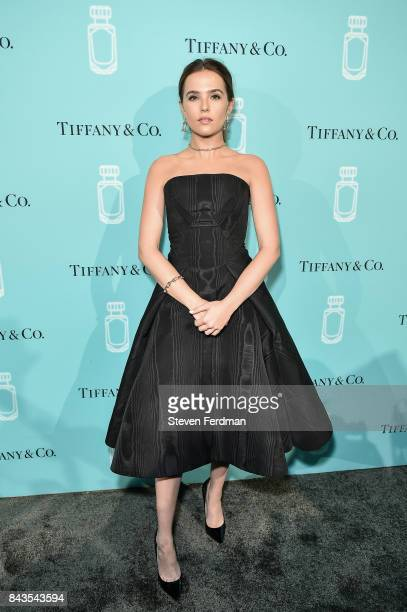 Zoey Deutch attends the Tiffany Co Fragrance launch event on September 6 2017 in New York City