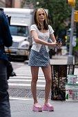Celebrity Sightings In New York City - July 30, 2021