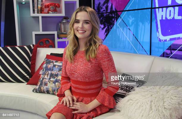 Zoey Deutch visits the Young Hollywood Studio on February 10 2016 in Los Angeles California