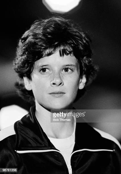 Zola Budd of Great Britain at the Peugeot Talbot Games held at Crystal Palace London on 20th July 1985