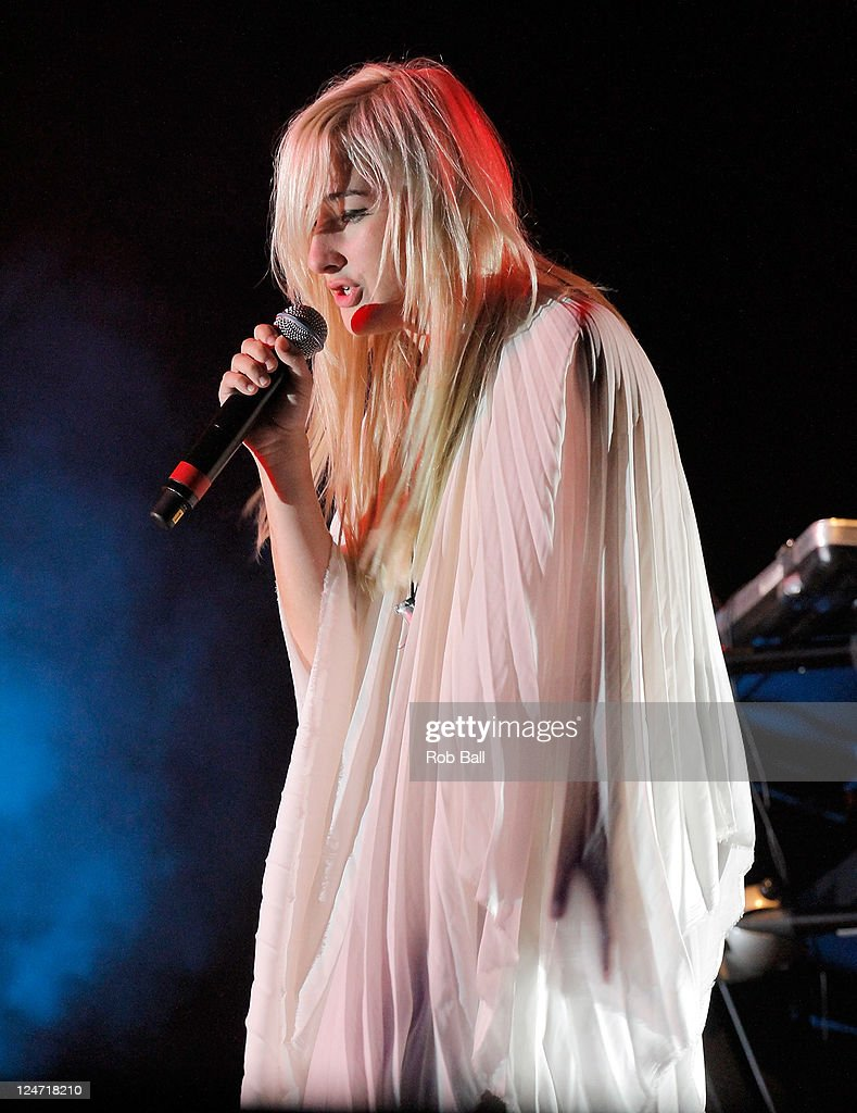 Zola Jesus performs on day four of Bestival at Robin Hill Country Park on September 11, 2011 in Newport, Isle of Wight.