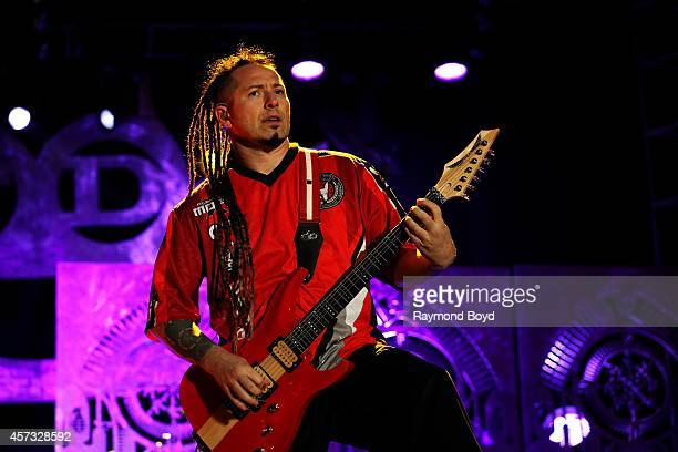 Zoltan Bathory from Five Finger Death Punch performs during the 'Louder Than Life' Music Festival in Champions Park on October 05 2014 in Louisville...