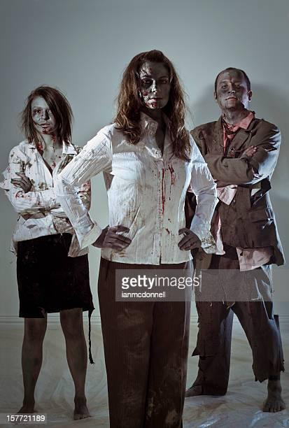 zombie business team
