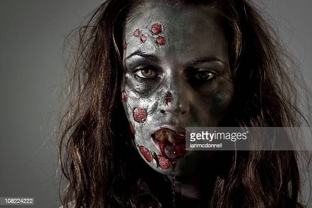 Zombie Licking Lips