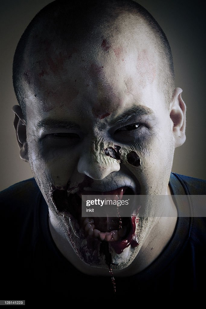 Zombie Portrait : Stock Photo