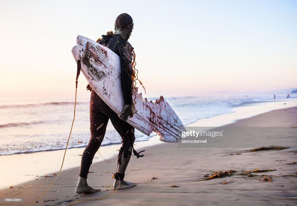 zombie surfer : Stock Photo