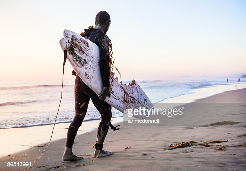 zombie surfer : Stock Photo