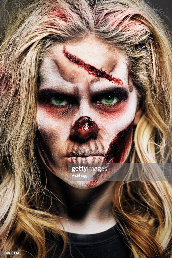 Zombie Woman : Stock Photo