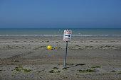 marée basse plage zone de baignade