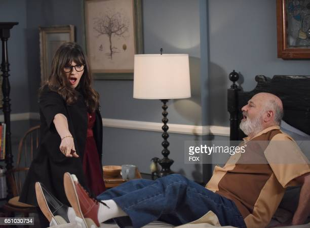 Zooey Deschanel and guest star Rob Reiner in the 'Misery' episode of NEW GIRL airing Tuesday March 21 on FOX