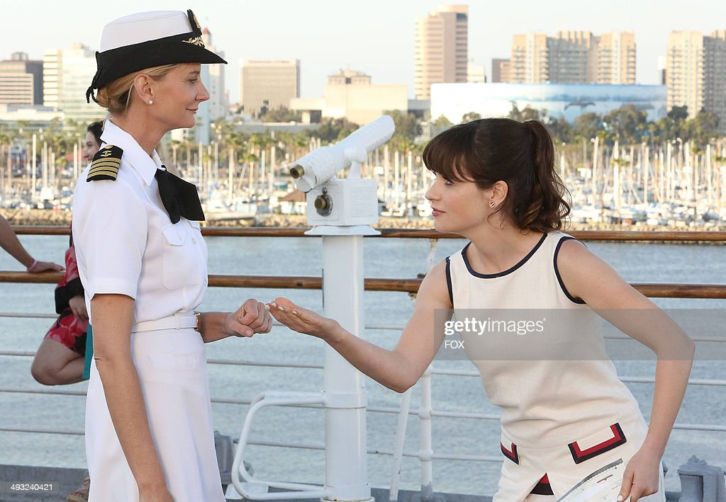 <a gi-track='captionPersonalityLinkClicked' href=/galleries/search?phrase=Zooey+Deschanel&family=editorial&specificpeople=202927 ng-click='$event.stopPropagation()'>Zooey Deschanel</a> (R) and <a gi-track='captionPersonalityLinkClicked' href=/galleries/search?phrase=Kerri+Kenney&family=editorial&specificpeople=2347815 ng-click='$event.stopPropagation()'>Kerri Kenney</a>-Silver in the 'Cruise' Season Finale episode of NEW GIRL airing Tuesday, May 6, 2014 (9:00-9:30 PM ET/PT) on FOX.