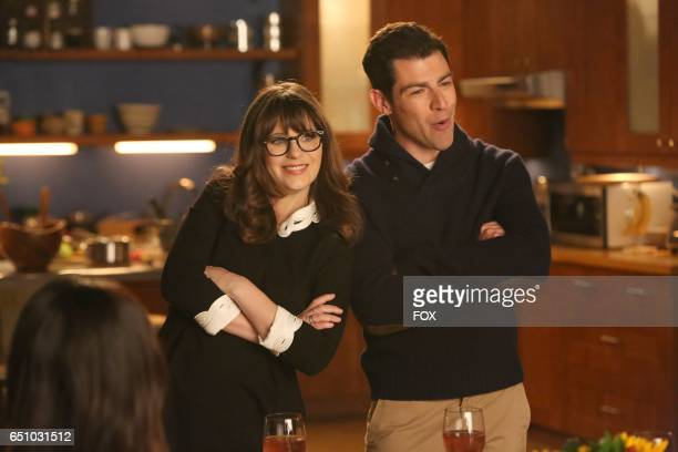 Zooey Deschanel and Max Greenfield in the 'Rumspringa' episode of NEW GIRL airing Tuesday Feb 21 on FOX