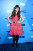 Zooey Deschanel attends the 2011 Fox Upfront at Wollman Rink Central Park on May 16 2011 in New York City
