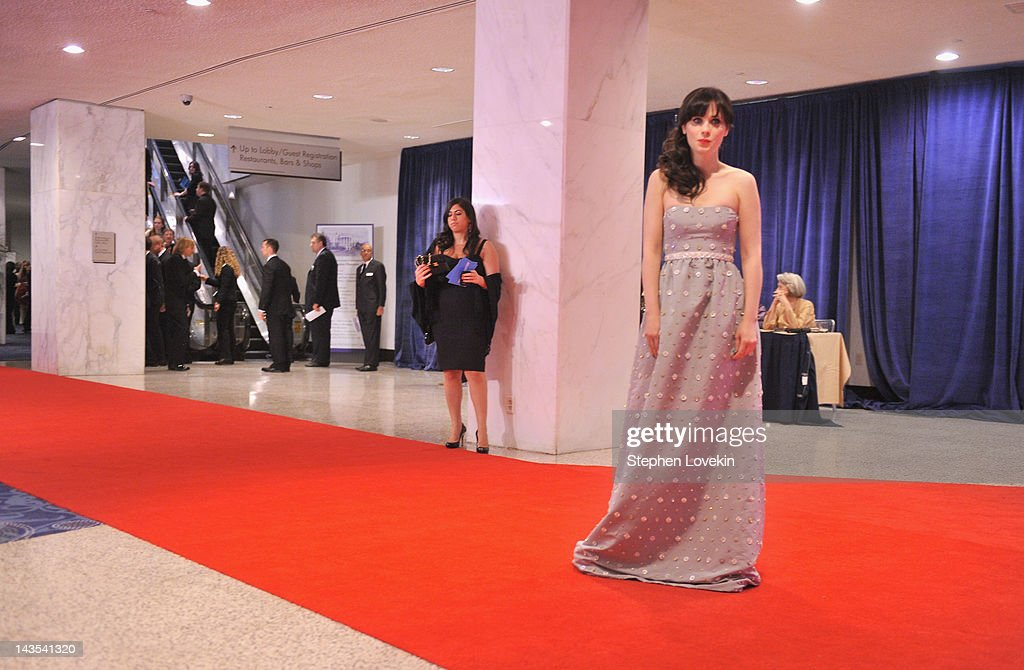 <a gi-track='captionPersonalityLinkClicked' href=/galleries/search?phrase=Zooey+Deschanel&family=editorial&specificpeople=202927 ng-click='$event.stopPropagation()'>Zooey Deschanel</a> attends the 98th Annual White House Correspondents' Association Dinner at the Washington Hilton on April 28, 2012 in Washington, DC.