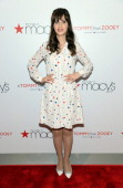 Zooey Deschanel attends the 'To Tommy From Zooey' Launch at Macy's Herald Square on April 14 2014 in New York City