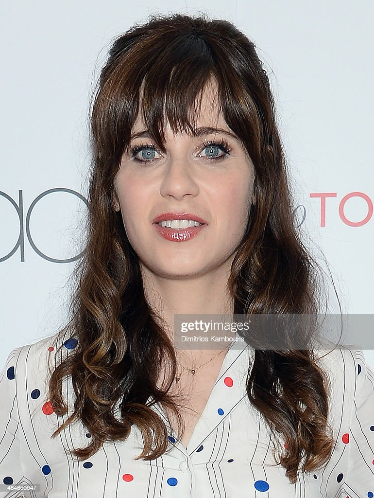 <a gi-track='captionPersonalityLinkClicked' href=/galleries/search?phrase=Zooey+Deschanel&family=editorial&specificpeople=202927 ng-click='$event.stopPropagation()'>Zooey Deschanel</a> attends the 'To Tommy, From Zooey' Launch at Macy's Herald Square on April 14, 2014 in New York City.