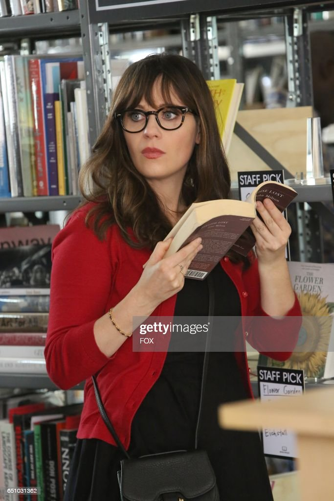 Zooey Deschanel in the 'Glue' episode of NEW GIRL airing Tuesday, Feb. 7 (8:00-8:31 PM ET/PT) on FOX.