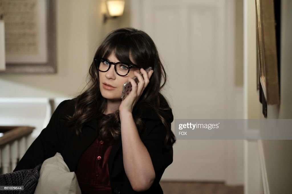 Zooey Deschanel in the 'Misery' episode of NEW GIRL airing Tuesday, March 21 (8:00-8:31 PM ET/PT) on FOX.
