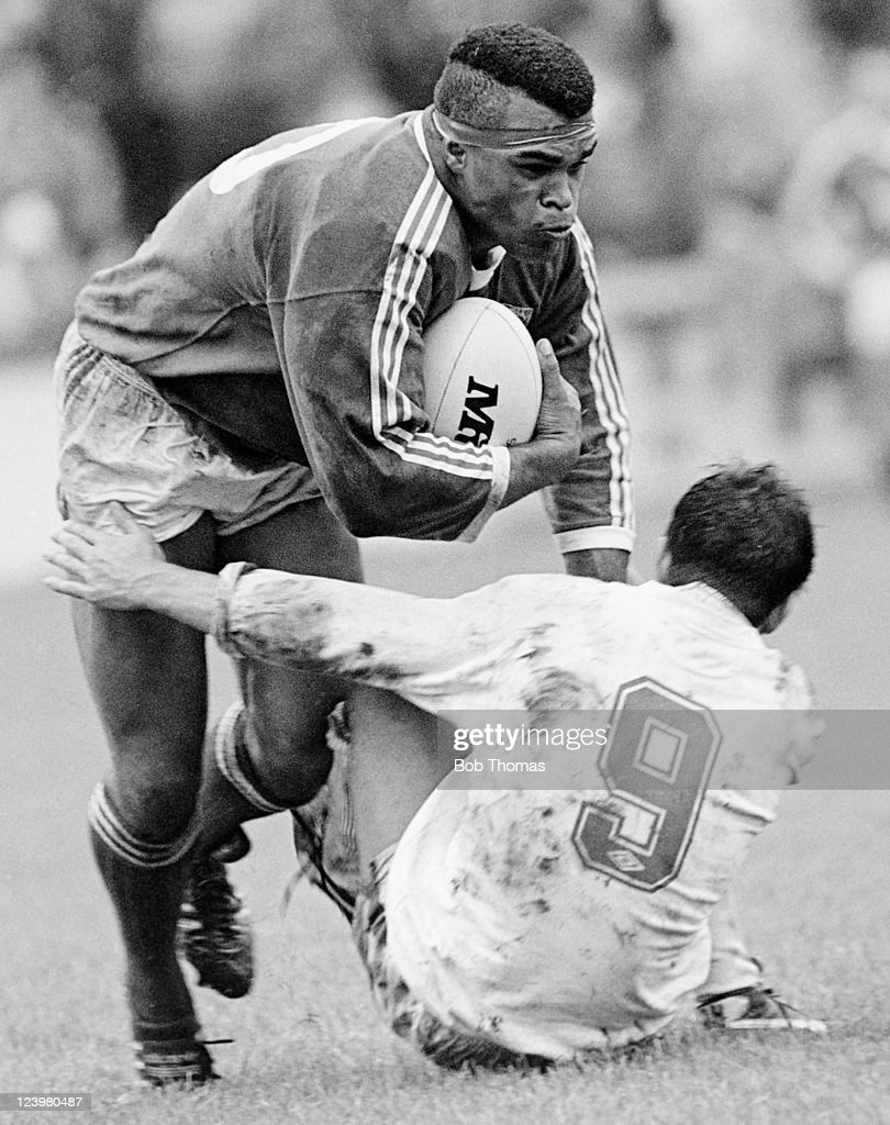 Zook Ema in action for Hull Kingston Rovers, circa 1988.