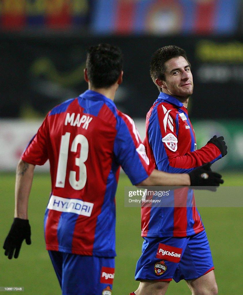 CSKA Moscow v Krylya Sovetov Samara - Premier-Liga