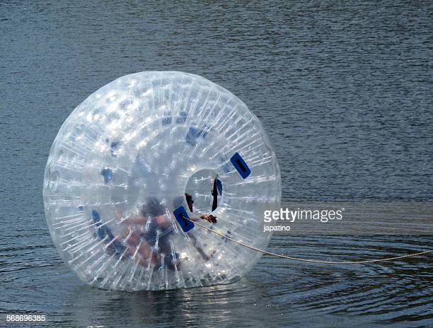 Zorbing on water