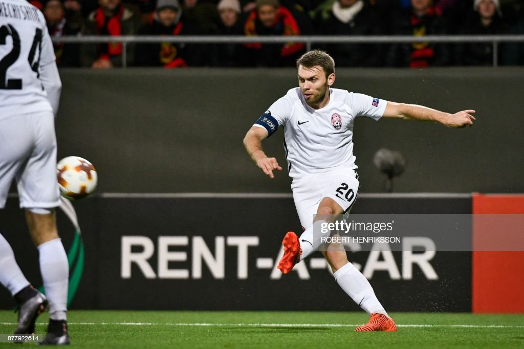 Rosenborg BK v Real Sociedad - UEFA Europa League