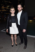 Zosia Mamet and Evan Jonigkeit attends the after party for a special screening of 'Tallulah' hosted by Netflix at The Jimmy at the James Hotel on...