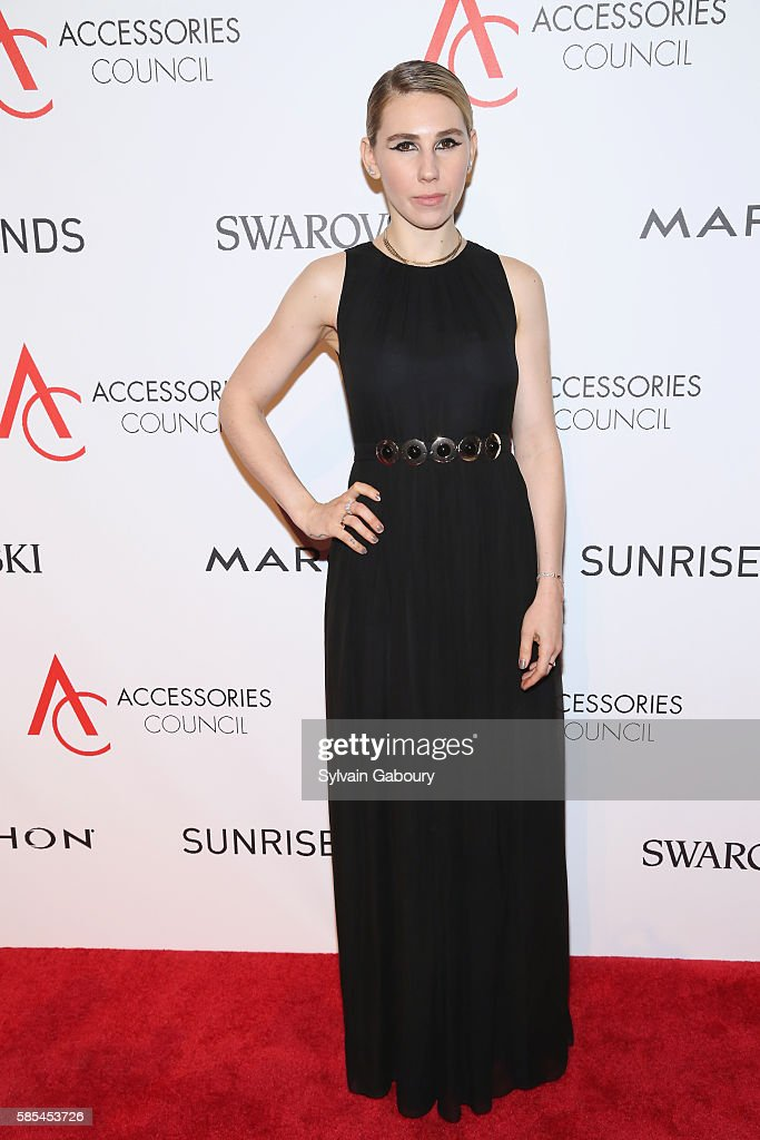Zosia Mamet attends 20th Anniversary of the ACE Awards at Cipriani 42nd Street on August 2 2016 in New York City