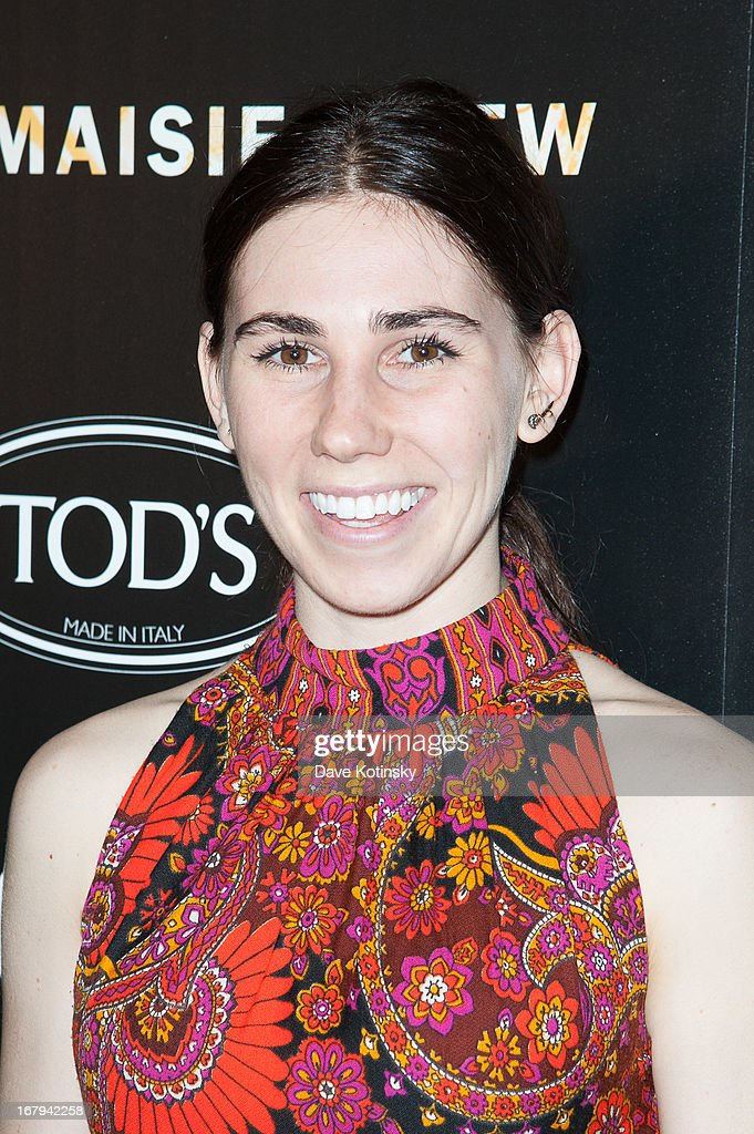 Zosia Mamet attends a screening hosted by The Cinema Society With Tod's & GQ of Millennium Entertainment's 'What Maisie Knew' presented by The Cinema Society at Sunshine Landmark on May 2, 2013 in New York City.