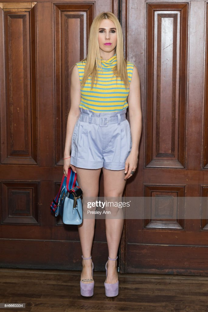 Zosia Mamet attends Marc Jacobs Spring 2018 show red carpet at Park Avenue Armory on September 13, 2017 in New York City.