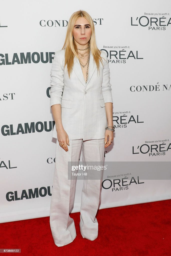 Zosia Mamet attends the 2017 Glamour Women Of The Year Awards at Kings Theatre on November 13, 2017 in New York City.