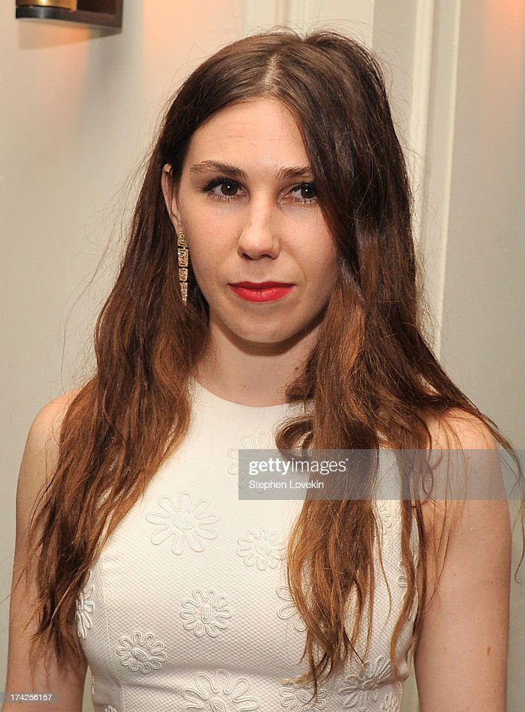 <a gi-track='captionPersonalityLinkClicked' href=/galleries/search?phrase=Zosia+Mamet&family=editorial&specificpeople=7439328 ng-click='$event.stopPropagation()'>Zosia Mamet</a> attends the 'Blue Jasmine' New York Premiere after party at Harlow on July 22, 2013 in New York City.