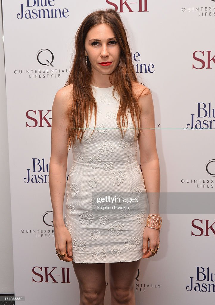 Zosia Mamet attends the 'Blue Jasmine' New York Premiere at MOMA on July 22, 2013 in New York City.