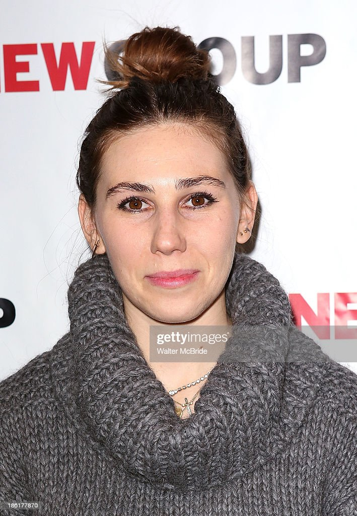 <a gi-track='captionPersonalityLinkClicked' href=/galleries/search?phrase=Zosia+Mamet&family=editorial&specificpeople=7439328 ng-click='$event.stopPropagation()'>Zosia Mamet</a> attends the 'Crimes Of The Heart' benefit reading for The New Group at Acorn Theatre on October 28, 2013 in New York City.