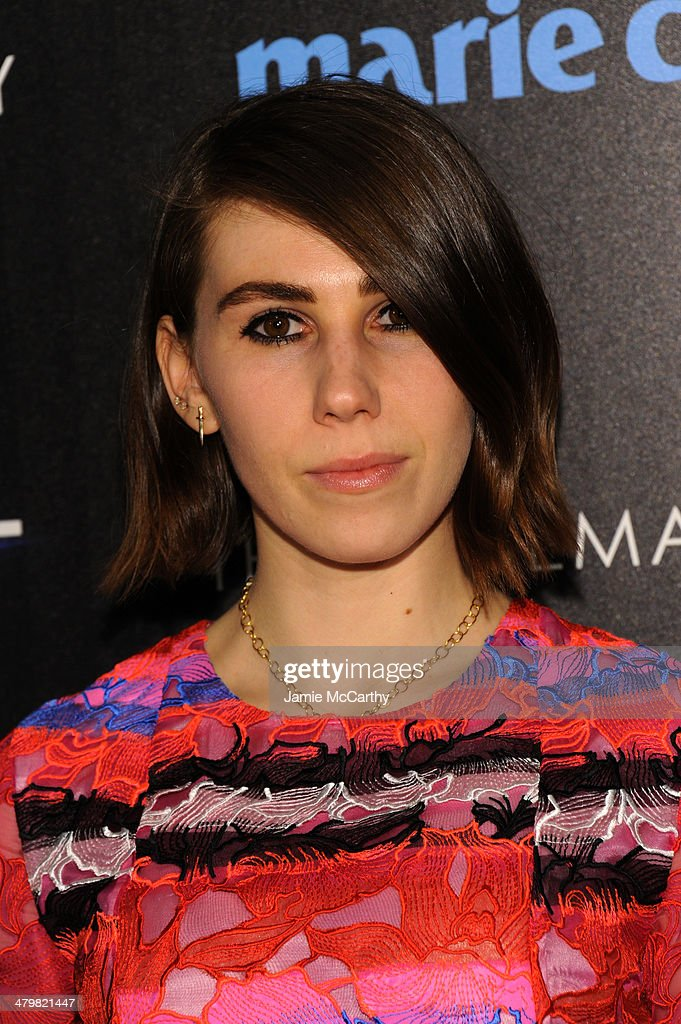 <a gi-track='captionPersonalityLinkClicked' href=/galleries/search?phrase=Zosia+Mamet&family=editorial&specificpeople=7439328 ng-click='$event.stopPropagation()'>Zosia Mamet</a> attends the Marie Claire & The Cinema Society screening of Summit Entertainment's 'Divergent' at Hearst Tower on March 20, 2014 in New York City.