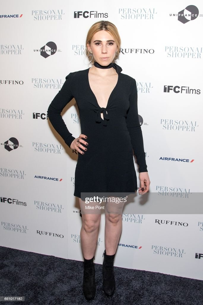 Zosia Mamet attends the 'Personal Shopper' New York Premiere at Metrograph on March 9, 2017 in New York City.