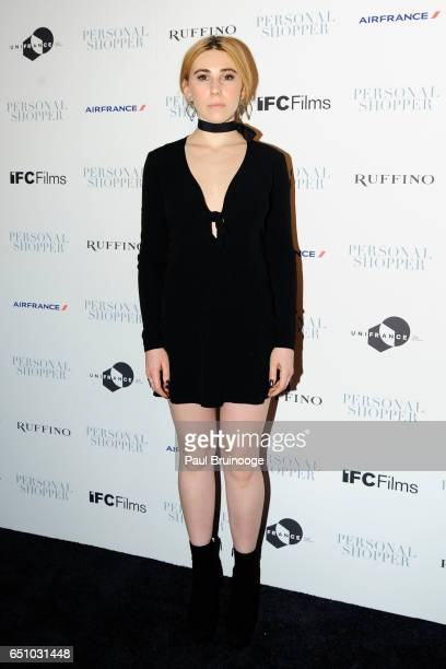 Zosia Mamet attends the 'Personal Shopper' New York Premiere at Metrograph on March 9 2017 in New York City